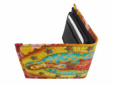 VIRGIN MARY GUADELUPE  US HANDMADE MEN  WALLET  COTTON FABRIC, NEW