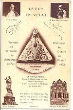 CP 43 - HAUTE LOIRE - Souvenir du 29e Jubilé de N.D. du Puy - 25 mars 1932