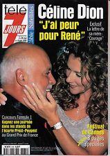 MAGAZINE TELE 7 JOURS CELINE DION  JUIN 1999