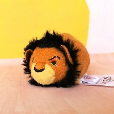 Disney Store Authentic Scar Tsum Tsum Lion King plush toy 3.5""