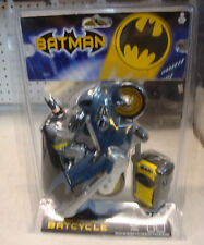 2003 TYCO BATCYCLE WITH BATMAN REMOTE CONTROL IN SEALED CASE MISB