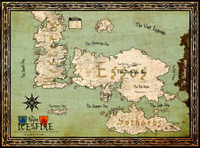 "Game of Thrones ( 11"" x 15"" ) Map Collector's Poster Print (T5) - B2G1F"