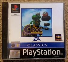 Croc Legend of The Gobbos - Retro Game - Complete - EA - Playstation One PS1