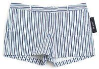 Land'N Sea Blue & White Stripe Casual Shorts Women's NWT