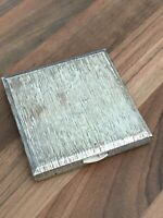 Lovely Modernist Vintage Kigu Ltd Compact Hallmarked Silver London1972 97.48gr