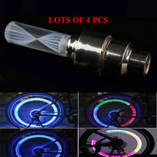 4PCS Bicycle wheel Lights Air Valve Cap Multi Color Vehicle Bike Wheel Light