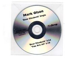 (ID482) Mark Olson, Dear Elisabeth / You Are All - DJ CD