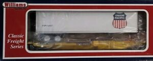 Williams By Bachmann Train 48401 O-Gauge Front Runner W/ U.P Lines Trailer (708)