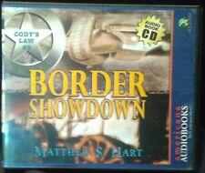 "Used Audio Book ""BORDER SHOWDOWN"" (Cody's Law #3) Matthew Hart 3CD's, Abridged"