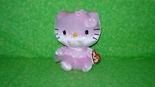NEW TY BEANIE BABIES SANRIO HELLO KITTY PINK POLKA DOT BALLARINA Stuffed Plush