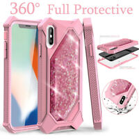 For iPhone XR XS MAX 8 7 6 Plus 360 Full Shockproof Hybrid Case Cover Heavy Duty