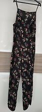BNWT FLORAL PRINT STRIAGHT LEG STRAPPY SUMMERY (THIN FABRIC) JUMPSUIT, UK 16