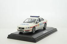 RARE !!! Volvo S80 Norway Politi Police Custom Made 1/43