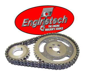 HD Double Roller Timing Chain Set for Chevrolet SBC 5.7L 283 305 327 350 383 400