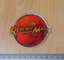 Bally 1999 Revenge From Mars Promotional Plastic Keyfob
