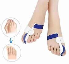 2 x Day & Night Toe Bunion Splint Aid - Hallux Valgus Corrector Straightener Fix