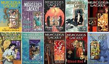 Elemental Masters Series Collection Set Books 1-10 Paperback By Mercedes Lackey