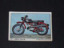 #112 JAWA TRIAL 90 CCCP MOTO 2000 PANINI EDITIONS DE LA TOUR 1973