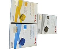 GENUINE Xerox ColorQube 8900 Color Set NEW 108r01026 108r01028 108r01029 INK