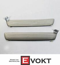 Mercedes A-Class W176 AMG Rear Door Sill Plates Stainless Steel Genuine NEW