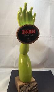 Beer Tap Handle Dead Frog Commander Beer Tap Handle Rare Figural Tap Handle