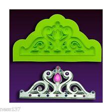 Moule en Silicone Mini Diadème Majestic Tiara Cake Design