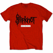 Slipknot - W.A.N.Y.K. We Are Not Your Kind Red Logo Official Licensed T-Shirt