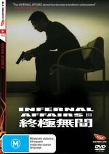 Infernal Affairs III (DVD) Eastern Eye Hong Kong Action Part 3 Like New!