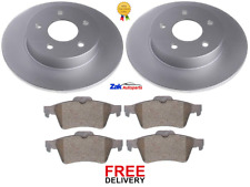 FOR NISSAN PRIMERA WP12 ESTATE 1.6 1.8 2.0 2.2 DCi REAR BRAKE DISCS & PADS SET