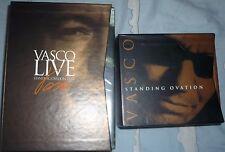 vasco box dvd standing ovation box cd standing ovation nuovi