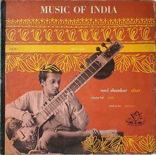 Ravi Shankar - Music Of India Album 2 (Three Classical Ragas) (LP, Mono)
