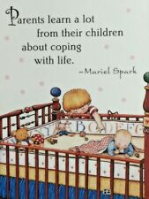 Mary Engelbreit Handmade Magnet-Parents Learn A Lot From Their Children