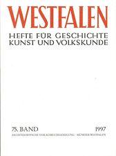 Westfalen Bd 75 Historie Paderborn Münsterland Thema Westfälischer Frieden, 1995