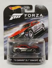 Hot Wheels 2016 Retro Entertainment Forza Motorsport '12 Camaro ZL1 Concept 4/5