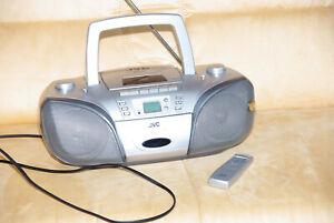 JVC RC-EZ53 Radio-Tuner /Kassettendeck /CD-Player Ghetto Blaster