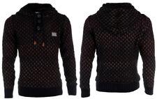 Cipo & Baxx Herren Pullover Tricot Sweater CP1383-brown
