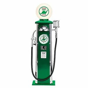 "Sinclair Opaline Motor Oil Lighted Gas Pump Replica 39 1/2""  x 11 1/2""  x 9 1/2"""