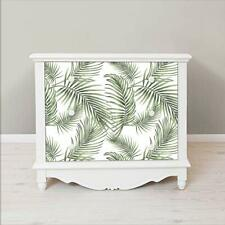 Tropical Self Adhesive Wallpaper Peel and Stick Rainforest Leaves Contact Paper