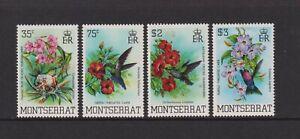 Montserrat - 1983, Kolibri Set - MNH - Sg 571/4