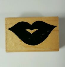 JL Design Co. Lips Rubber Stamp