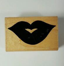 JL Design Co. Lips Rubber Stamp