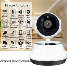 Wireless Pan Tilt 720P HD WIFI Camera Security Network Night Vision Track Number