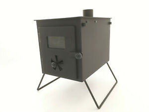 Nomad Stove Portable Wood Burning Tent Stove For Camping -Free Bag