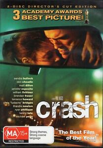 CRASH starring Sandra Bullock (2-disc DVD set, 2006)