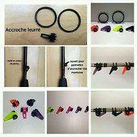 Lot de 2 Accroches Leurre Noir,Jaune,Orange. Easy hook keeper Black,Orange, Pink