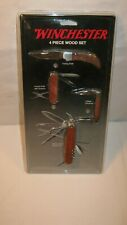 Winchester 4 Piece Wood Set 2009 Carolina Knife And Tool