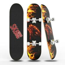 Hot 31 inch Skateboards for Beginner Complete Maple board 8 Layer Fire Wolf Deck