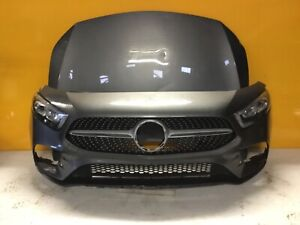 Mercedes a class amg w177 2018-GENUINE FRONT BUMPER  bonnet headlights