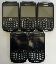 BlackBerry Curve 8520 Black T-Mobile Smartphone Lot of 5