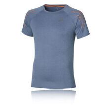 Abbiglimento sportivo da uomo blu ASICS manica corta